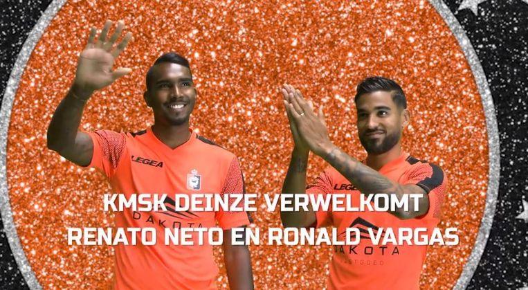 Renato Neto en Ronald Vargas naar KMSK Deinze.