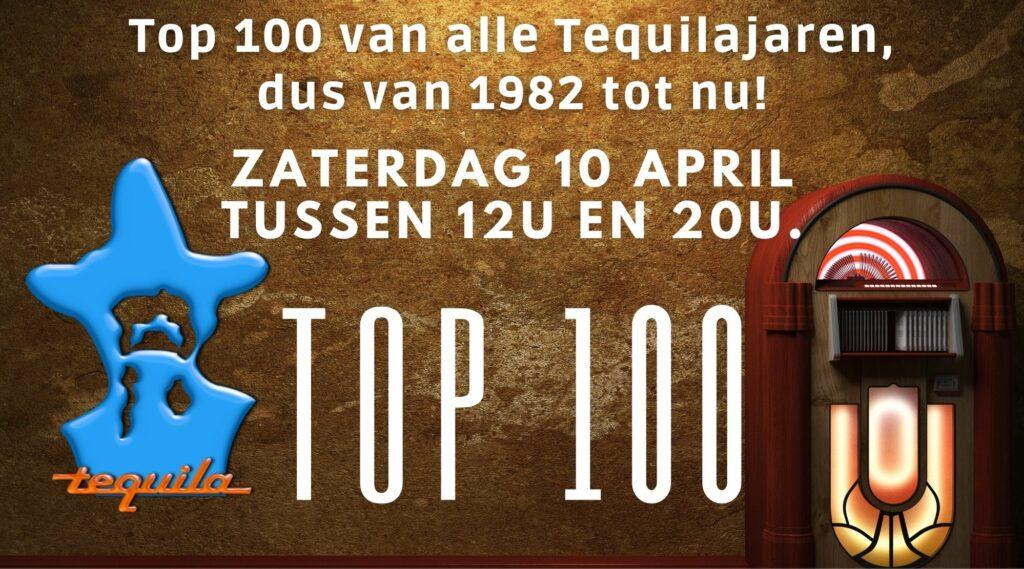 Top 100 van alle Tequilajaren, 39 jaar pop geschiedenis.